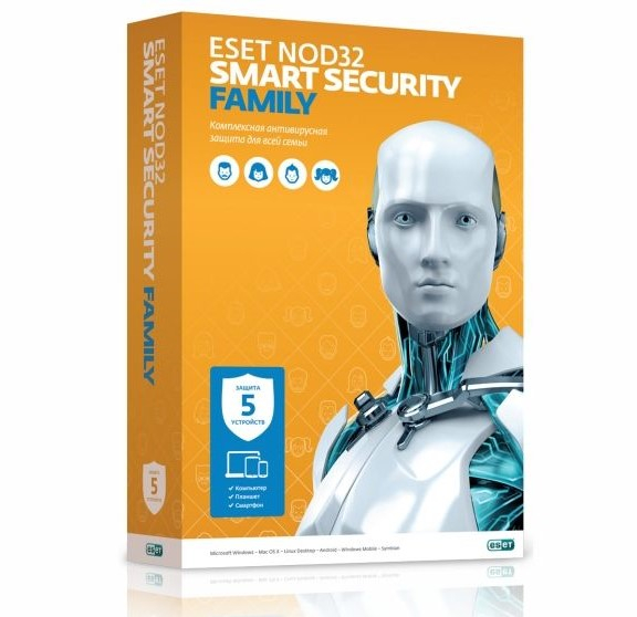 ESET NOD32 Smart Security Family